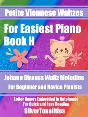cover image of Petite Viennese Waltzes for Easiest Piano Booklet H