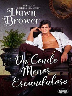 cover image of Un Conde Menos Escandaloso