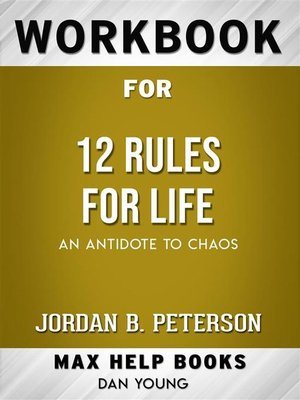 cover image of Workbook for 12 Rules for Life--An Antidote to Chaos