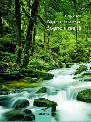 cover image of Nero e bianco. Sogno e realtà