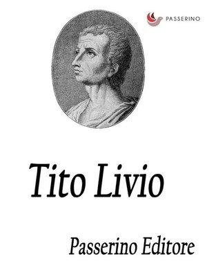 cover image of Tito Livio