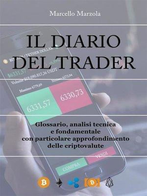 cover image of Il diario del trader
