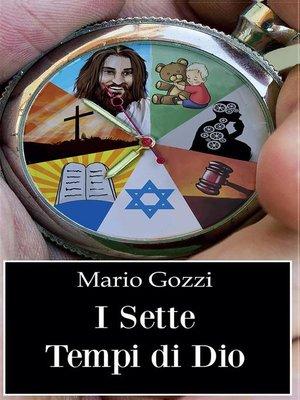 cover image of I sette tempi di Dio (studio sulle sette dispensazioni)