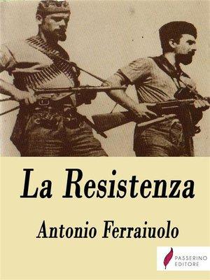 cover image of La Resistenza