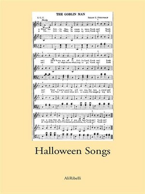 cover image of Halloween Songs