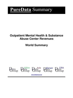 cover image of Outpatient Mental Health & Substance Abuse Center Revenues World Summary