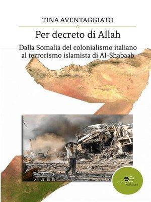cover image of Per decreto di Allah