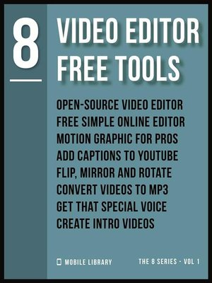 cover image of Video Editor Free Tools 8