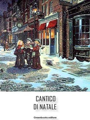 cover image of Cantico di Natale