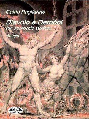 cover image of Diavolo e Demòni (un approccio storico) Saggio