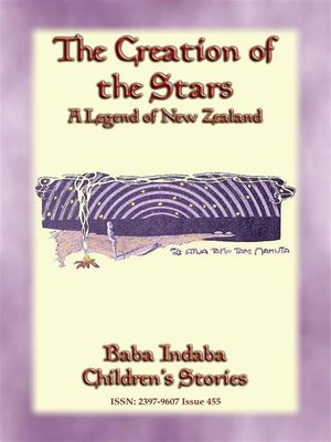 cover image of THE CREATION OF THE STARS--A Maori Legend