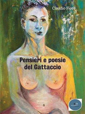 cover image of Pensieri e poesie del Gattaccio
