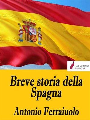 cover image of Breve storia della Spagna