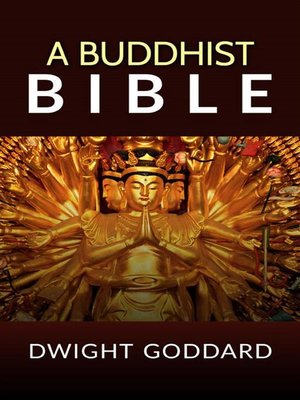 cover image of A Buddhist Bible