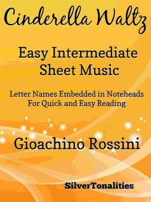 cover image of Cinderella Waltz Easy Intermediate Piano Sheet Music