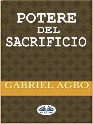 cover image of Potere Del Sacrificio
