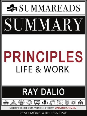 cover image of Summary of Principles--Life and Work by Ray Dalio