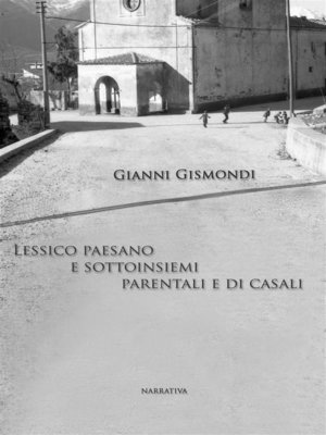cover image of lessico paesano e sottoinsiemi parentali e di casali