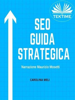 cover image of SEO--Guida Strategica