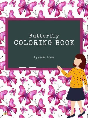 cover image of Butterfly Coloring Book for Teens (Printable Version)