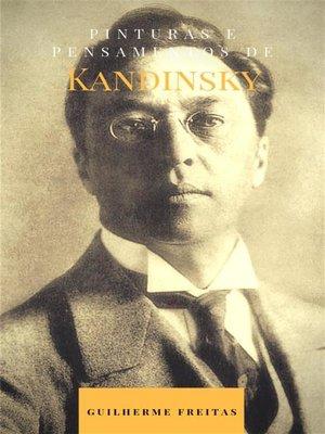 cover image of Pinturas e pensamentos de Kandinsky