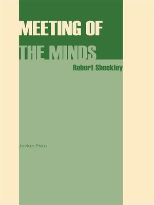 cover image of Meeting of the Minds