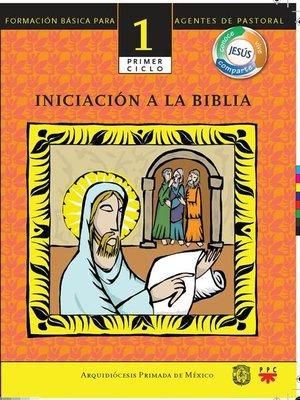 cover image of Iniciación a la Biblia