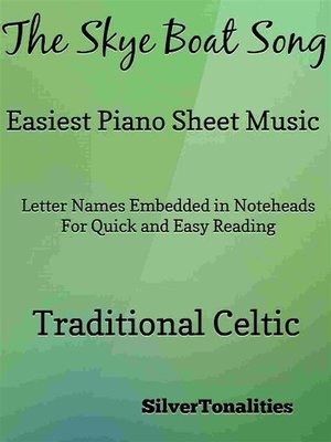 cover image of The Skye Boat Song Easiest Piano Sheet Music