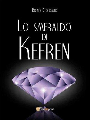 cover image of Lo smeraldo di Kefren