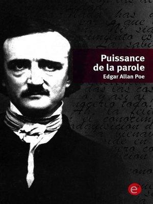 cover image of Puissance de la parole