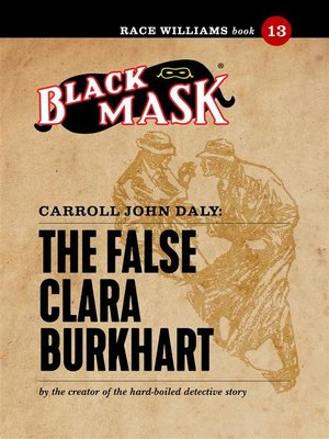 cover image of The False Clara Burkhart