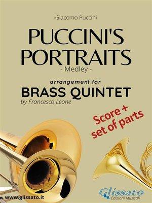 cover image of Puccini's Portraits--Brass Quintet score & parts
