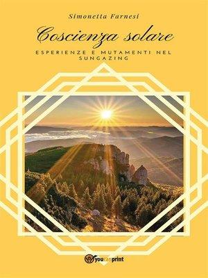 cover image of Coscienza solare