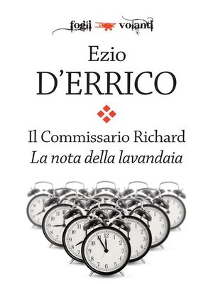 cover image of Il Commissario Richard. La nota della lavandaia