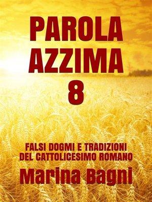 cover image of Parola Azzima 8