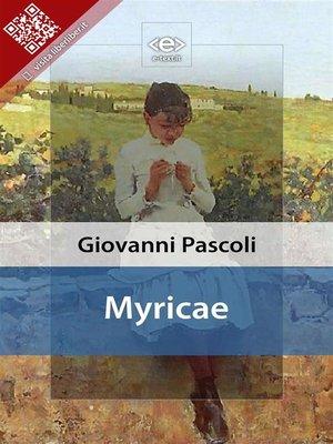 cover image of Myricae