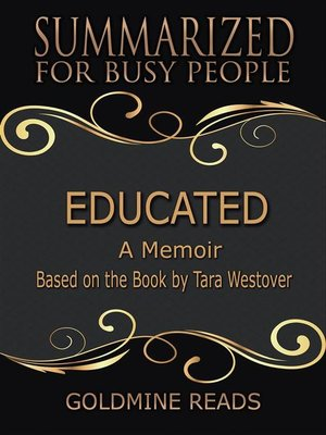 cover image of Educated--Summarized for Busy People