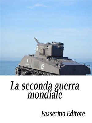 cover image of La seconda guerra mondiale