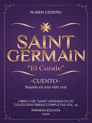cover image of Saint Germain-- El Conde -