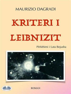 cover image of Kriteri i Leibnizit