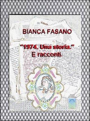 "cover image of ""1974. Una storia."""