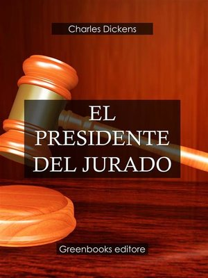 cover image of El presidente del jurado