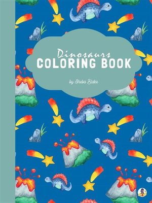 cover image of Geometric Dinosaurs Coloring Book for Kids Ages 6+ (Printable Version)