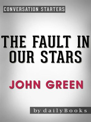 cover image of The Fault in Our Stars--A Novel by John Green