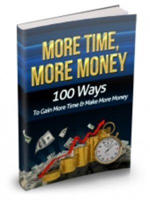 cover image of More Time More Money