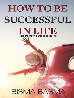 cover image of How to be successful in life