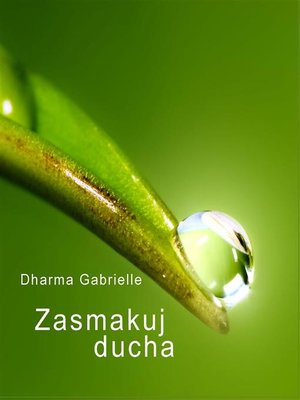 cover image of Zasmakuj Ducha