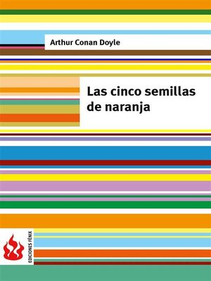 cover image of Las cinco semillas de naranja (low cost). Edición limitada