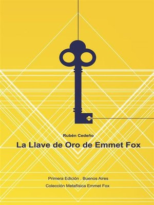 cover image of La Llave de Oro de Emmet Fox