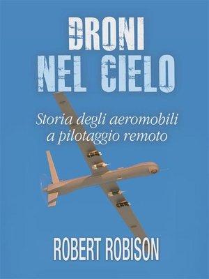 cover image of Droni nel cielo